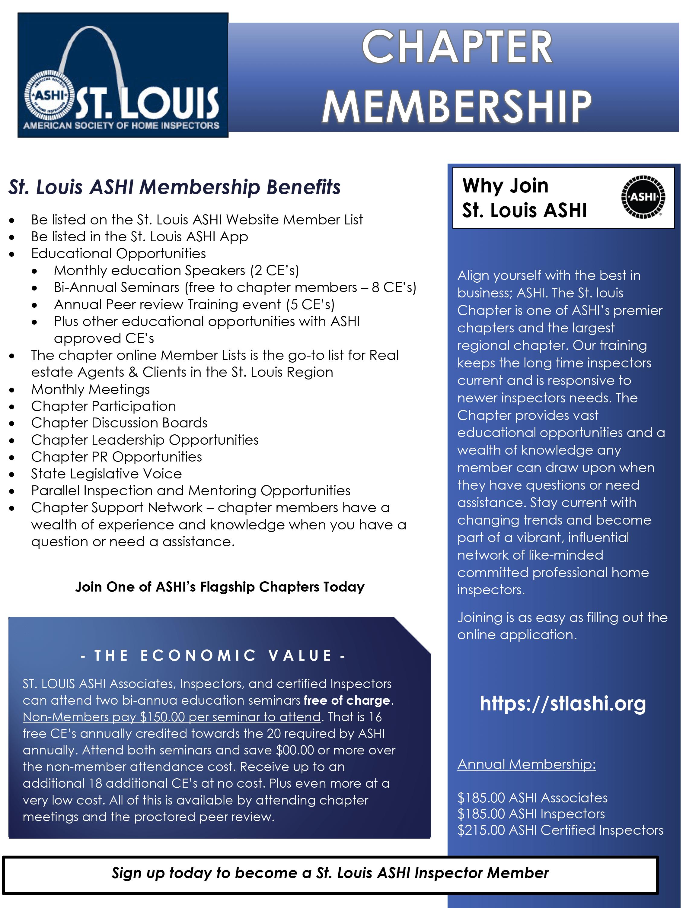 Chapter Membership Flyer