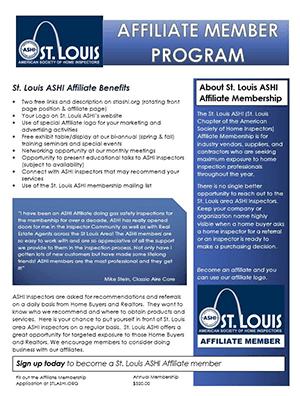 Affiliate Membership Flyer