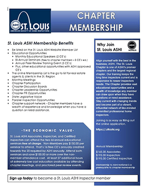 Chapter Membership Flyer